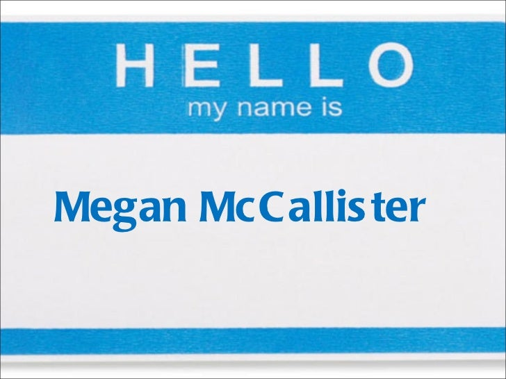 Megan McCallister