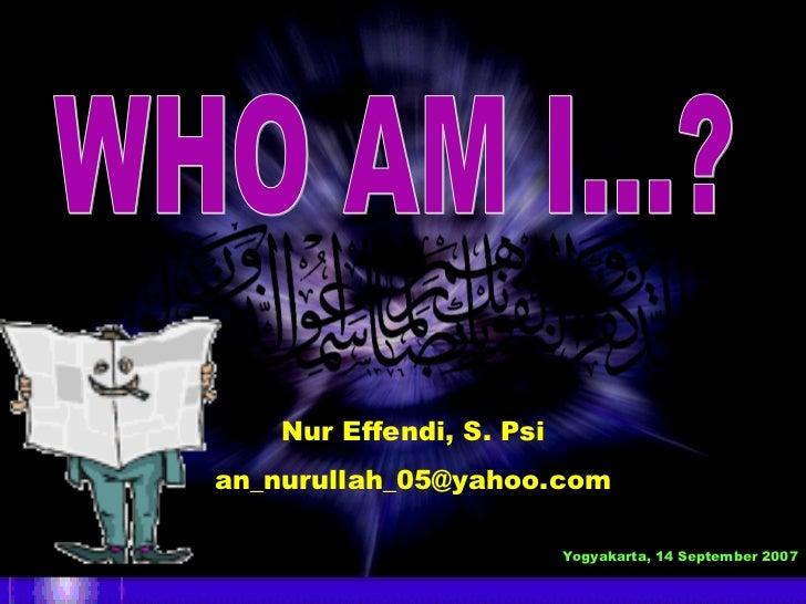 HUMAN                               TRAINING CENTRE    Nur Effendi, S. Psian_nurullah_05@yahoo.com                        ...