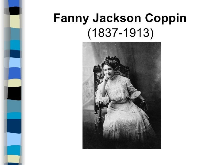 Image result for fanny jackson coppin