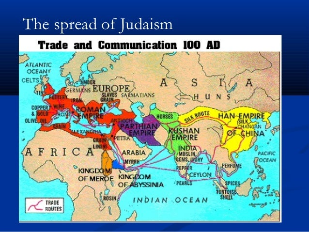 Galerry spread of judaism map