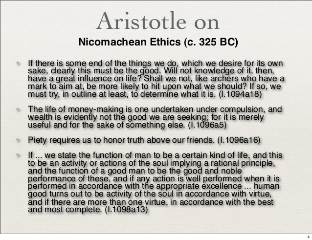 defining virtue in nicomachean ethics by aristotle