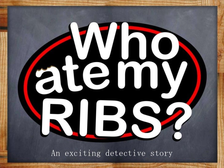 An exciting detective story