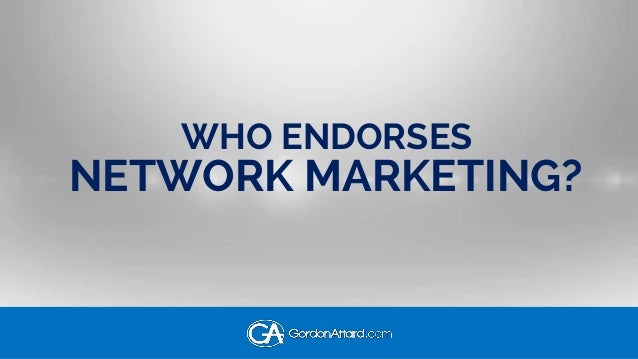 25 Celebrities That Endorse Network Marketing