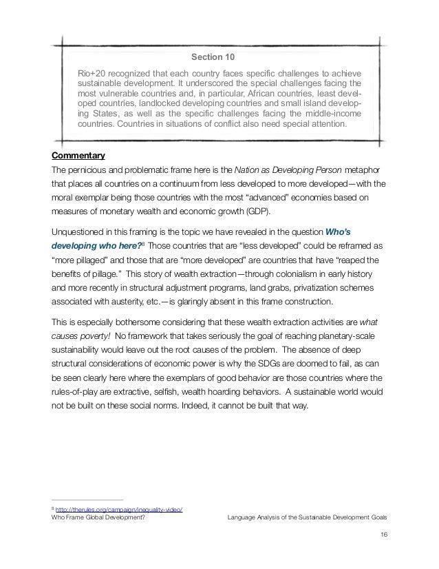 small essay on sustainable development