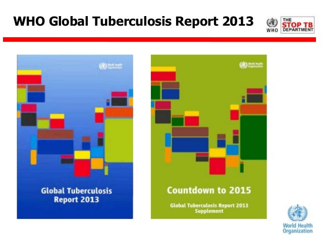 WHO Global Tuberculosis Report 2013