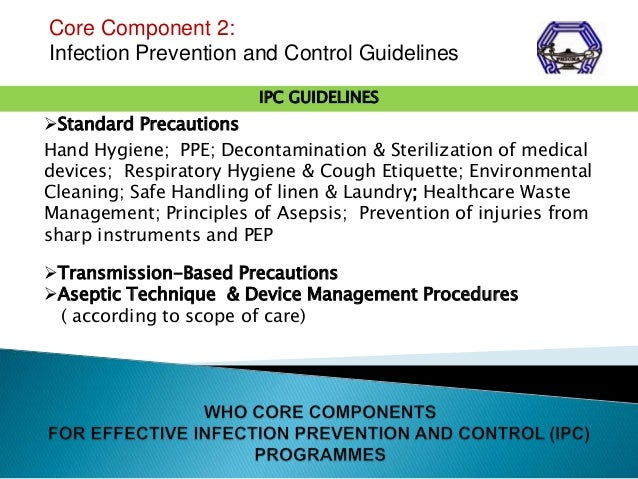 infection prevention and control of infections essay It is intended to complement extant infection prevention and control  and other healthcare associated infections  require infection control advice,.