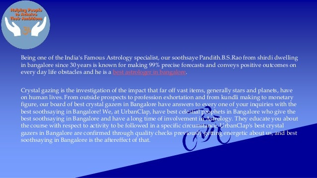 Who is a best astrologer in bangalore