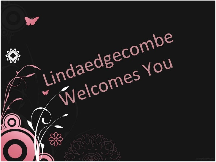 Lindaedgecombe Welcomes You