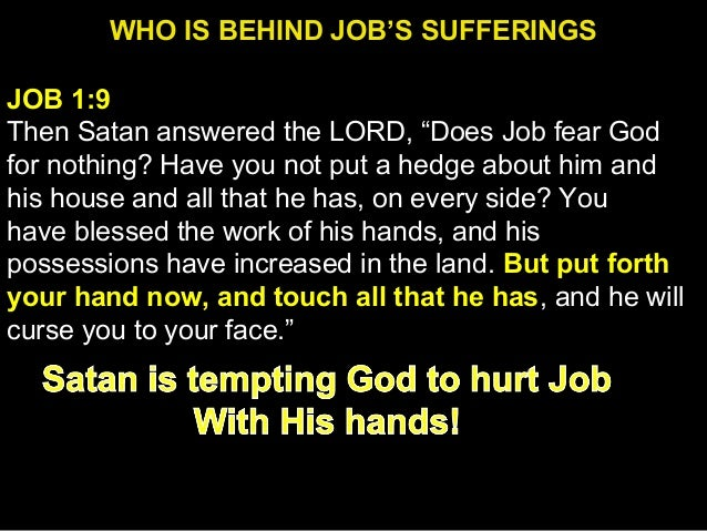 job and arjuna s sufferings Reflections on suffering from the book of job 3 undeserved suffering, therefore suffering, (d) suggest god's estimation of job's complaint and suffering, that is, a correction of the three counselors and job himself, and (e) summarize.