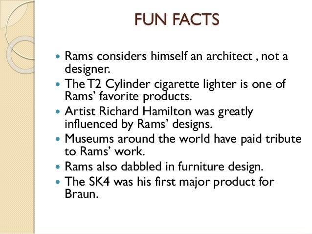 Who Is Dieter Rams