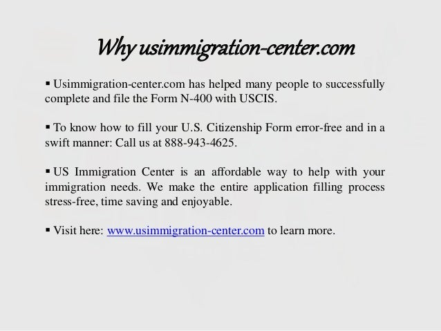 Who Is Eligible To Apply For U.S. Citizenship (Form N-400)