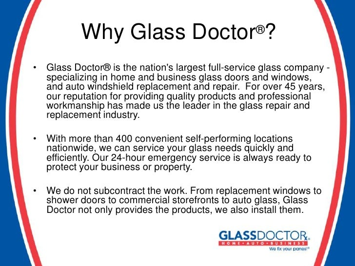 356d7a8d23a Who Is Glass Doctor. 1. 2.