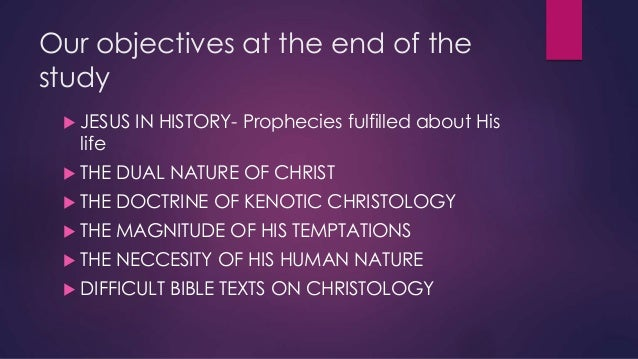 Who is Jesus, CHRISTOLOGY Slide 2
