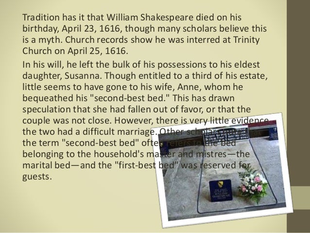 Who is William Shakespeare