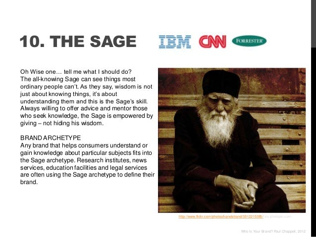 """10. THE SAGEOh Wise one… tell me what I should do?The all-knowing Sage can see things mostordinary people can""""t. As they s..."""