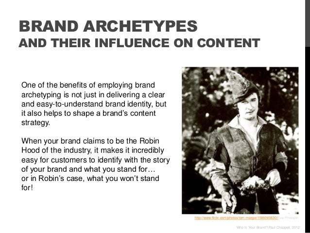 BRAND ARCHETYPESAND THEIR INFLUENCE ON CONTENTOne of the benefits of employing brandarchetyping is not just in delivering ...