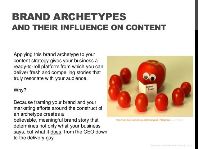 BRAND ARCHETYPESAND THEIR INFLUENCE ON CONTENTApplying this brand archetype to yourcontent strategy gives your business ar...