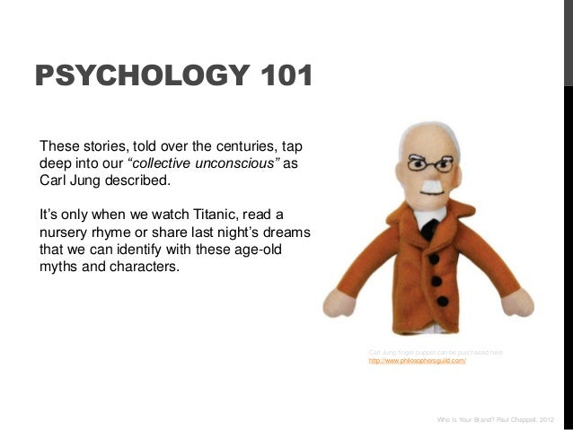 """PSYCHOLOGY 101These stories, told over the centuries, tapdeep into our """"collective unconscious"""" asCarl Jung described.It""""s..."""