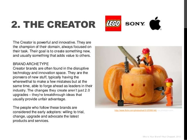 2. THE CREATORThe Creator is powerful and innovative. They arethe champion of their domain, always focused ontheir task. T...