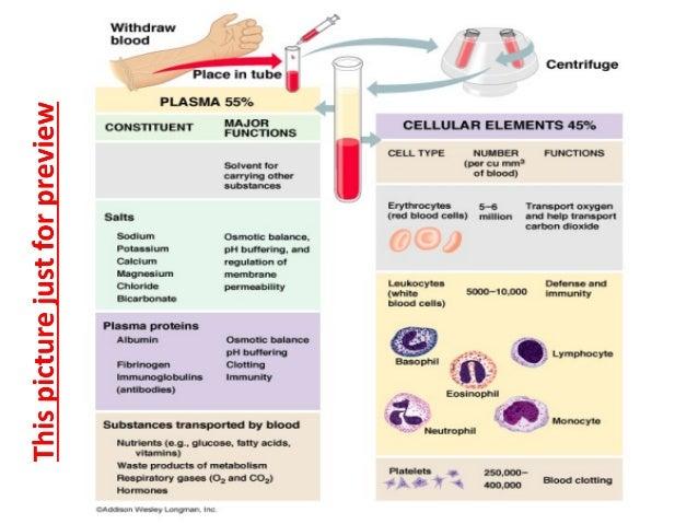 Whole blood, serum & plasma collections