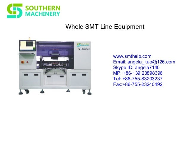 smt equipment for pcb assembly rh slideshare net