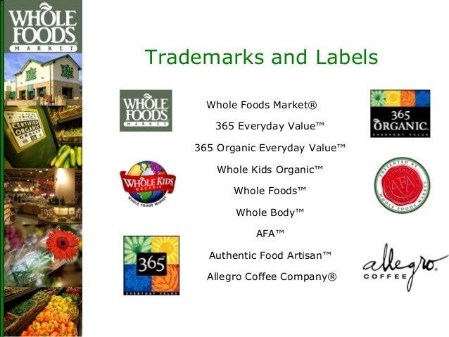 Brand Whole Foods Market Allegro Coffee
