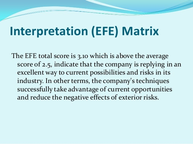yahoo case study efe matrix Case study of google inc ife matrix efe matrix matching stage swot cpm matrix g oogle aol yahoo stage 2: the matching stage.