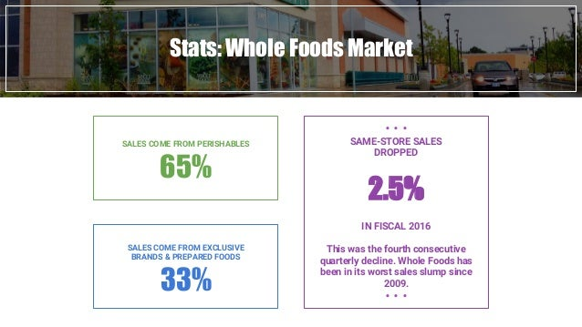 Whole Foods Quarterly Report