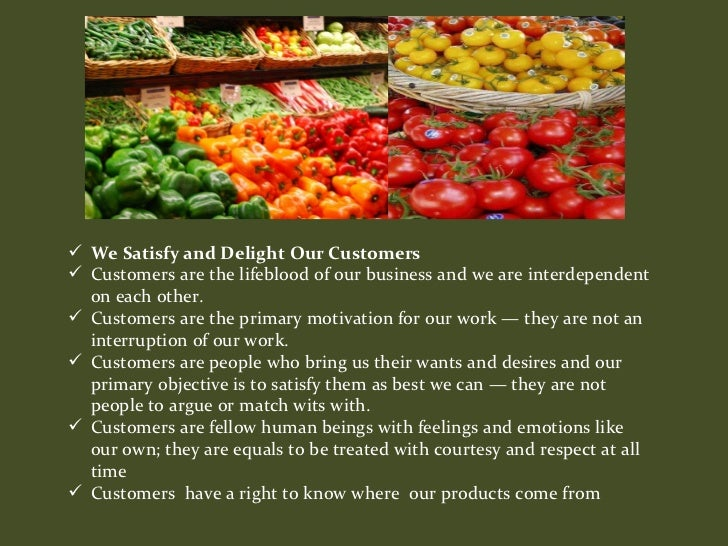 Whole Foods Market Mission Statement 2017 Food