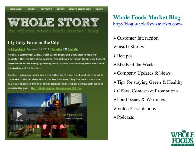 whole foods strategy implementation Upmarket grocery chain whole foods is ripping out and replacing to 90% of its systems – strong focus on cloud which is one of the strategic plug ins.