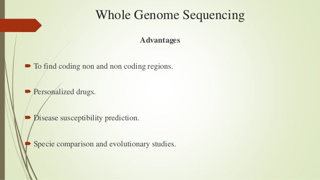 genome sequencing essay Genome sequencing approaches print reference this  published: 30th november, 2017 last edited: 24th may, 2018  disclaimer: this essay has been submitted by a student this is not an example of the work written by our professional essay writers  and then reassembled b: in hierarchical shotgun sequencing, the genome is first broken into.
