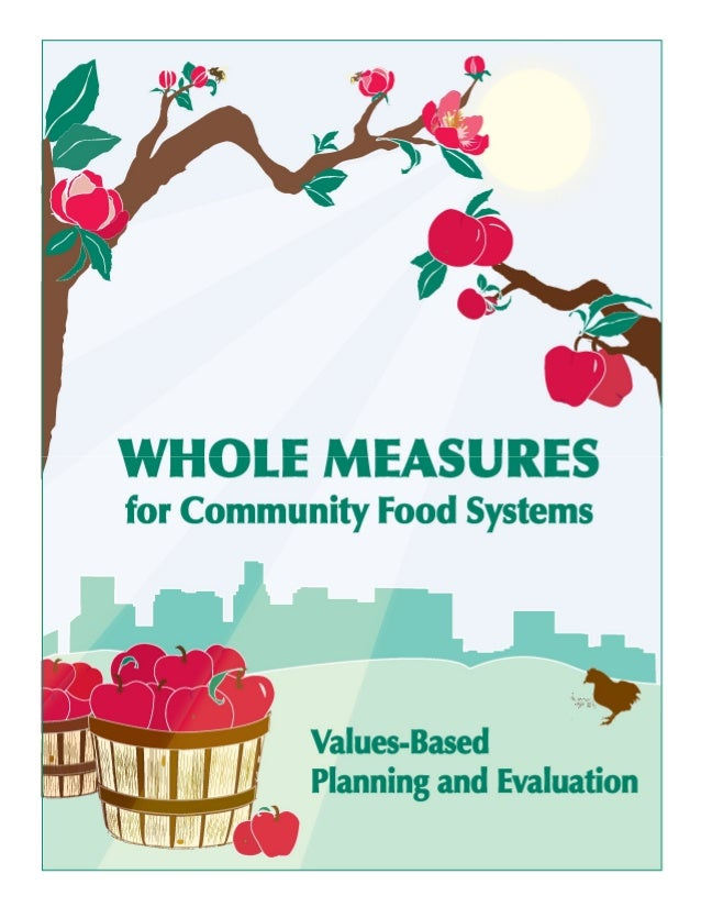 2 Whole Measures for Community Food Systems