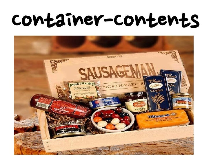 Container-Contents