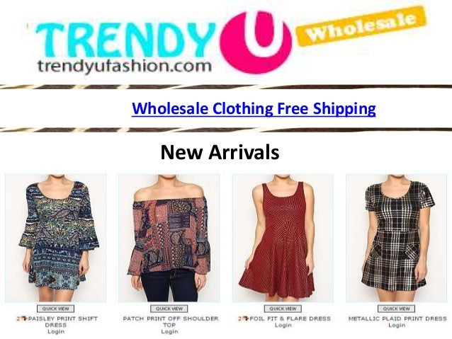 free shipping wholesale clothing