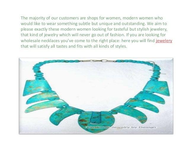 Wholesale necklaces exporter Slide 2
