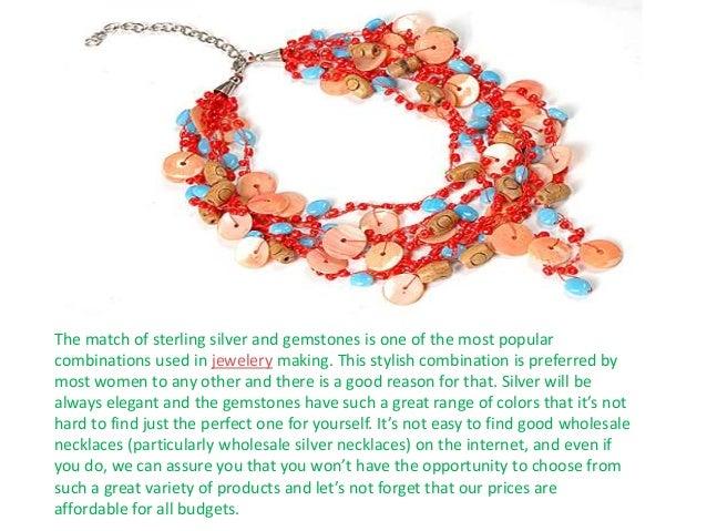 Wholesale necklaces exporter Slide 3