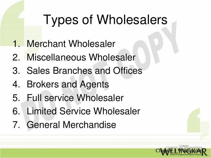 relationship between manufacturer and wholesaler Reducing channel conflict   conflict is common throughout the distribution channel of marketing it exists among manufacturers, distributors and retailers much of the conflict is.