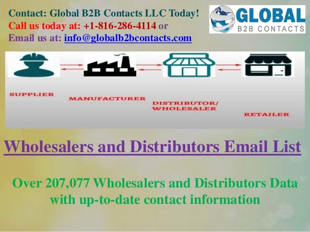 Contact: Global B2B Contacts LLC Today! Call us today at: +1-816-286-4114 or Email us at: info@globalb2bcontacts.com Whole...