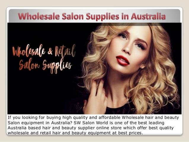 Wholesale salon supplies in australia
