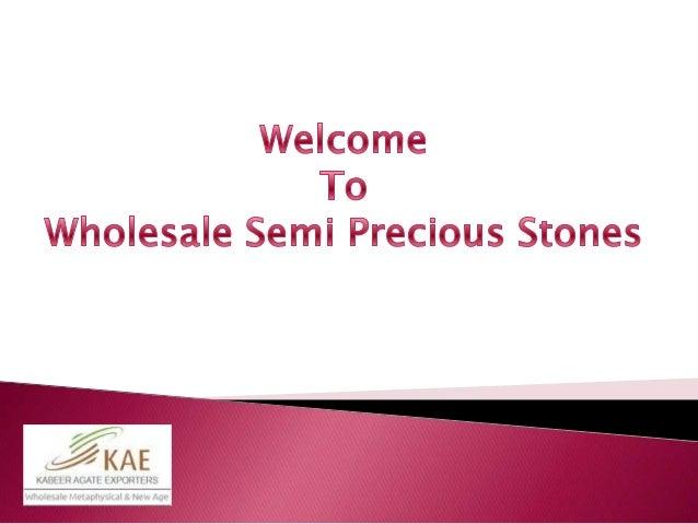 Wholesale semi precious stones For Sale USA UK