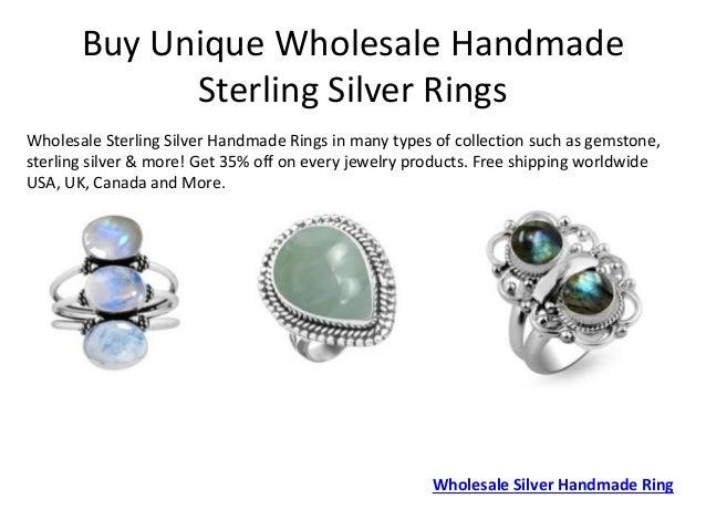 Wholesale Sterling Silver Handmade Jewelry Artisan Jewelry