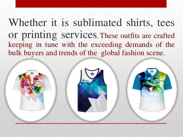 Wholesale Sublimation Clothing Suppliers : Alanic Wholesale