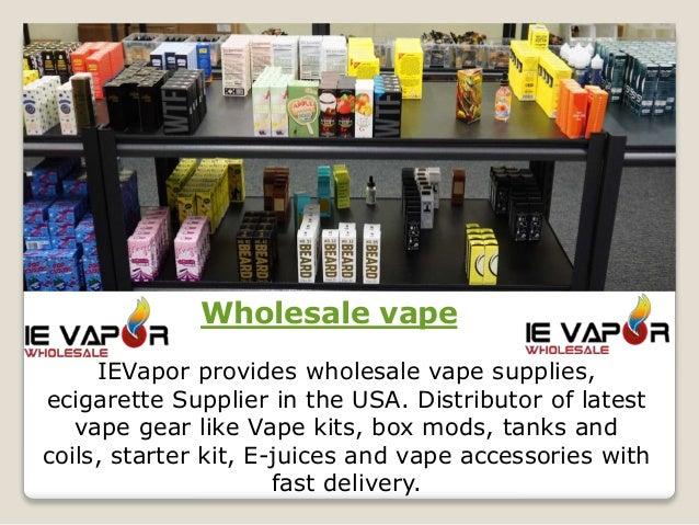 Wholesale vape | IE Vapor Inc