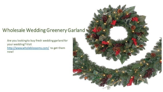 wedding greenery garland online 4 - Christmas Greenery Wholesale