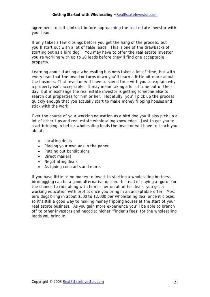 Wholesaling ebook pdf fandeluxe Gallery