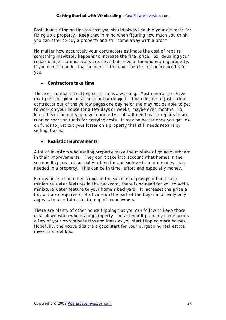 Wholesaling ebook pdf fandeluxe Images