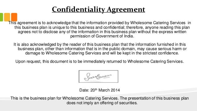 Sample Confidentiality Agreement (NDA)
