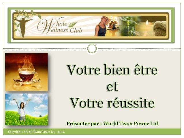 Copyright : World Team Power Ltd - 2012