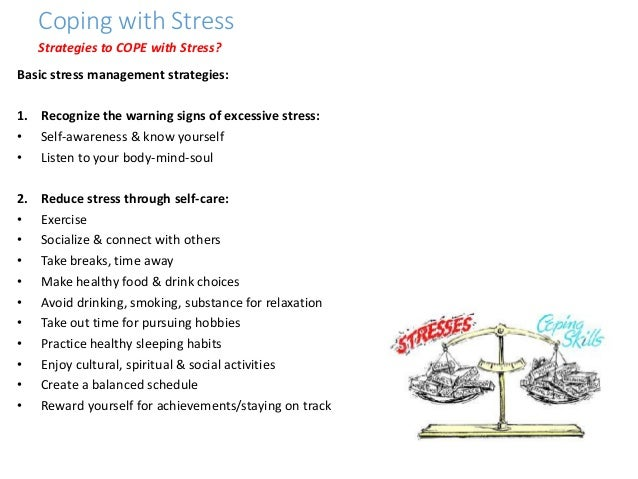WHO Life Skills Coping With Stress