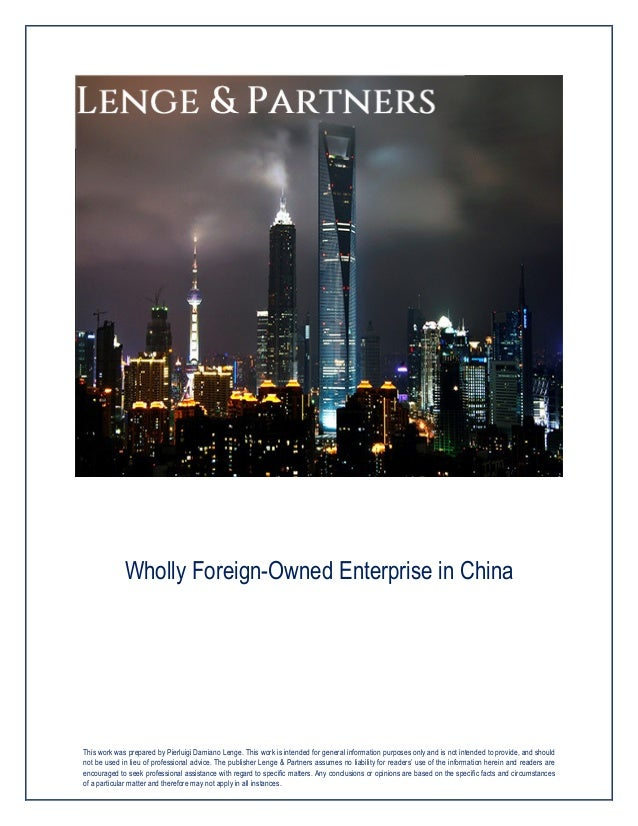 Liquidating distribution to foreign shareholder in china